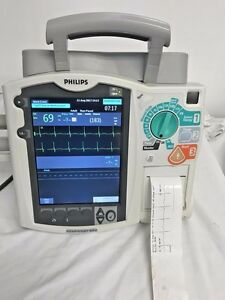 Phillips Heart Start Mrx Pacing Nibp Ecg Biomed Certified Warranty