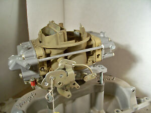 Holley 6210 650 Double Pumper Spread Bore 4 Barrel Carb Rebuilt And Plated