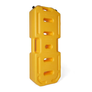 Yellow 30 Liter Fuel Tank Jerry Can Spare Backup Gas Tank Gasoline Oil Container