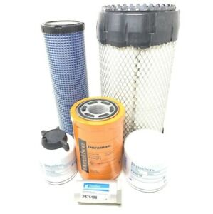 Bobcat T180 T190 W kubota Eng interim Tier 4 Maintenance Filter Kit