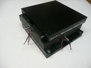 Neat New England Xy Ball Screw Translation Table Stage Large Heavy Duty Sensors