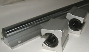 Cnc Supported Shaft 20mm 55 An 2 Bearing Special 99
