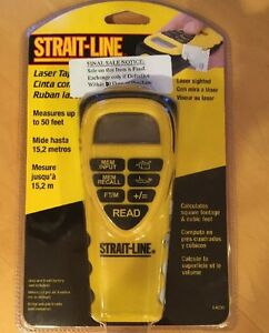 Strait line Laser Ruler Measuring Device Home Improvement New