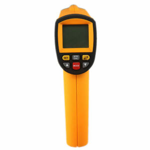 Gm1150 Lcd Digital Non Contact Laser Ir Infrared Thermometer Temperature Meter