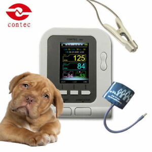 Contec08a vet Digital Blood Pressure Monitor veterinary animal Nibp spo2 Probe