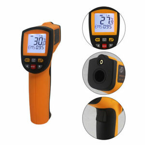 Gm900 Non contact Digital Lcd Ir Infrared Thermometers Temp Gun 50 To 950