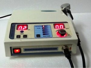 Ultrasound Therapy Machine 1 Mhz Portable Chiropractic Deep Heat Tissue Process