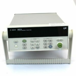Keysight Agilent 34972a used Lxi Data Acquisition W lan And Usb