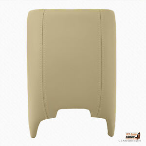 2005 2006 Lincoln Navigator Ultimate 2wd 4x4 Center Console Lid Cover Camel Tan