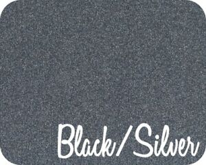 20 X 5 Yards Stahls Glitter Flake Heat Transfer Vinyl Black Gold