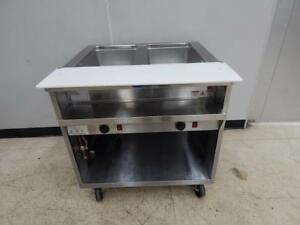 Randell 2 bay Electric Steam Table 33 Wide Model 3612