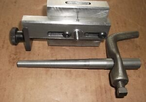 Small Taper Attachment With Sample Lathe Dog