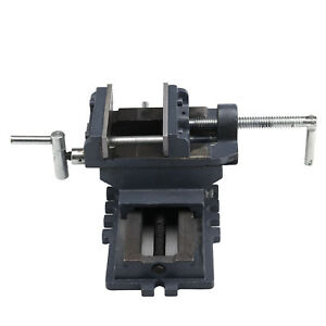 New 4 Cross Press Vise Slide Metal Milling 2 Way X y Clamp Machine