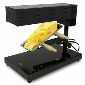Nutrichef Cheese Raclette Machine Raclette Cheese Melter Swiss Style Warmer