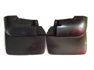 1993 1997 Toyota Land Cruiser New Factory Rear Mud Flap Guards pair