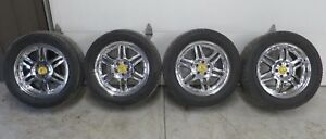 Used Mercedes benz 18 Wheels Tires Chrome Rims Set 4 Ml320 Ml430 W163 5x112