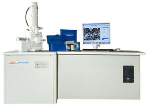 Jeol Jsm 5500 Scanning Electron Microscope Sem With Manuals Software Computer