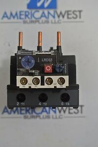 Schneider Electric Lrd3363 Overload Relay Used