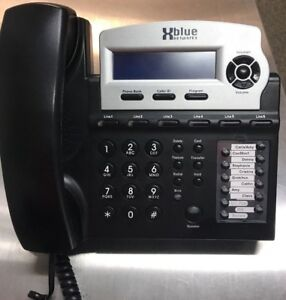 Xblue Networks X16dte 6 Line Telephone Dim Display Charcoal