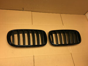 2014 2015 2016 Bmw X5 X6 F16 Front Grille Set Left Right 7316057 7316075