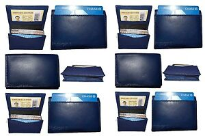 Lot Of 12 New Leather Business Card Credit Card Holder Fifty Card Case Id Nwt