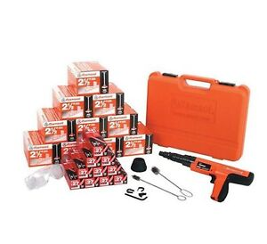 Ramset Cobra Value Pack With Tool Pins And Loads Power Powder Actuated Tool Kit