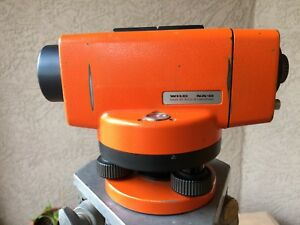 Wild Heerbrugg Na0 Precision Automatic Survey Construction Level Surveyor Lieca