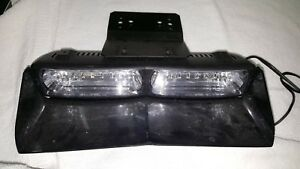 Whelen Talon Dual Dash Light Led B b W shield And Bracket
