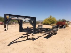 2000 Donahue Trailers Exg160 Construction Equipment Trailers