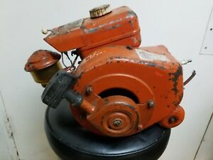 Antique Vintage Jacobsen Lawn Queen Engine Complete And Runs Early Model
