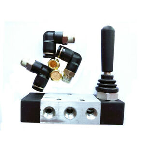 1 Tire Tyre Changer Parts Hand Controlled Switch Assist Air Valve With Fittings