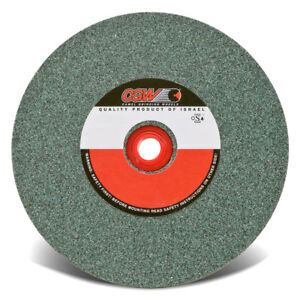 Cgw 35052 8 x1 x1 1 4 Green Silicon Carbide Grinding Bench Wheel 80 Grit