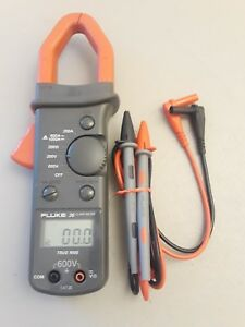 Fluke 36 Clamp Meter Catiii Ac dc True Rms Clamp Meter Amps Volts Ohms
