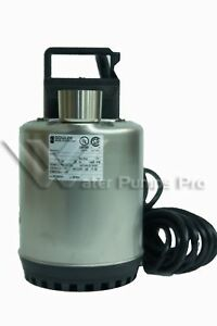 Lsp0311 Goulds Submersible Water Well Sump Pump 1 3 Hp 115 Volts No Float Switch
