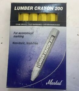 Lumber Crayon Markal 80351 Box Of 12