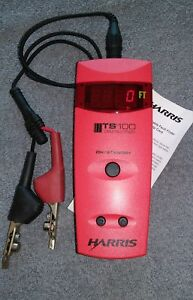 Harris Ts100 Cable Fault Finder With Bnc To Alligator Clips