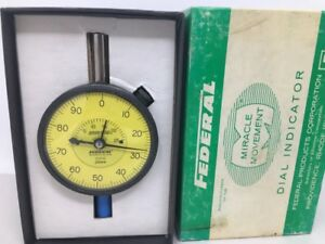 New Federal Sq61s Dial Indicator Miracle Movement Speed Read 01mm