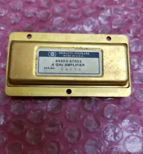 Hp 86603 67003 Rf Amplifier 4ghz