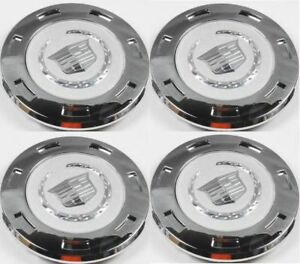 K649 4pcs New For Cadillac Escalade Silvewheel Center Hub Caps 9596649 2007 2014