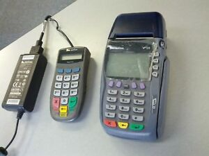 Verifone Vx570 Omni 5700 Pos Credit Card Terminal Pinpad 1000se Includ Cord s