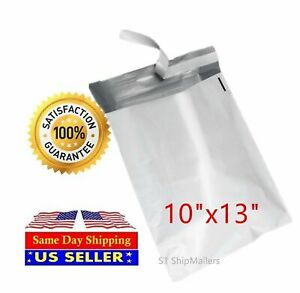 300 Pm 4 10x13 Poly Bag Mailers Envelopes Shipping Self Sealing St Shipmailers