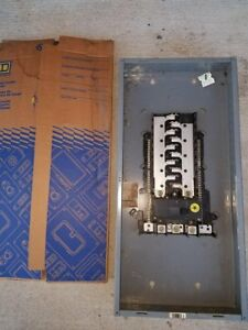 Square d 200 amp Indoor Main Breaker Box Panel Load Center