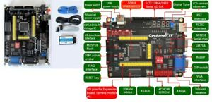 Altera Cyclone Iv Ep4ce6e22c8n Fpga Development Board Usb Blaster