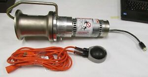 New a b Chance Electric Capstan Hoist winch C308 1170 115v 15amp Puller Tugger