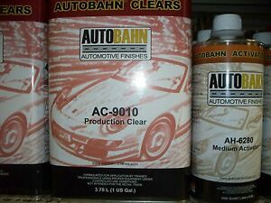 Ac9010 Production Clear Coat 5 Quart Kit High Gloss Urethane
