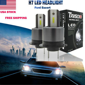 2 X H7 110w 26000lm Cree Led Headlight Kit For Ford Focus Drl Light Replace Hid