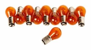 20x 1157 Amber Yellow Turn Signal Bulbs Tail Light Rear Brake Stop 1157na Lot