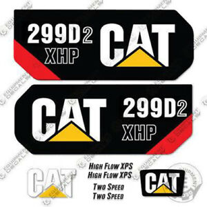 Caterpillar 299d2 Xhp Decal Kit Equipment Decals 299 D2 Xhp