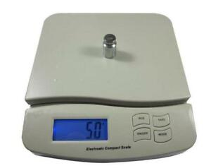 55 Lbs Digital Postal Scale Kitchen Shop Measurements Weighing Usps Fedex Ups