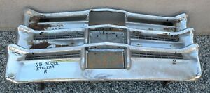 X Buick Riviera Gran Sport New Triple Plated Chrome Rear Back Bumper 1965 65 Oem